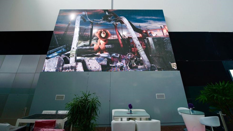 P3 Flexible rental led screen for Costa Rica