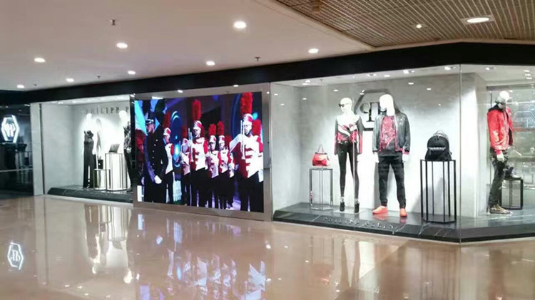 P4 Indoor Video Wall for PHILIPP PLEIN Store HK