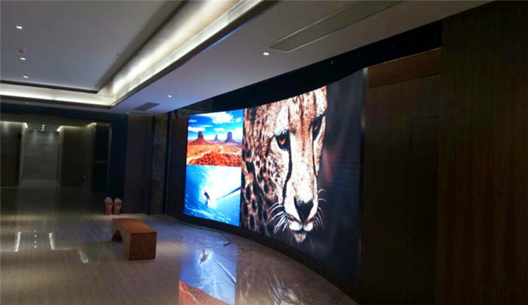 P1.875 Small Pitch led display wall in Chuqhi