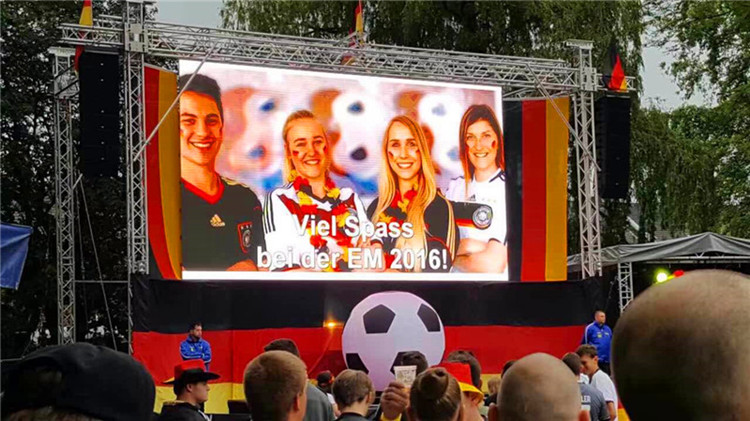 P4.81 Outdoor stage rental LED display in Germany