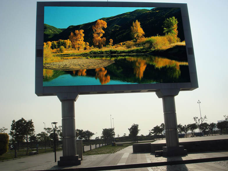 Led video screen display composition structure and working for Exterior led screen