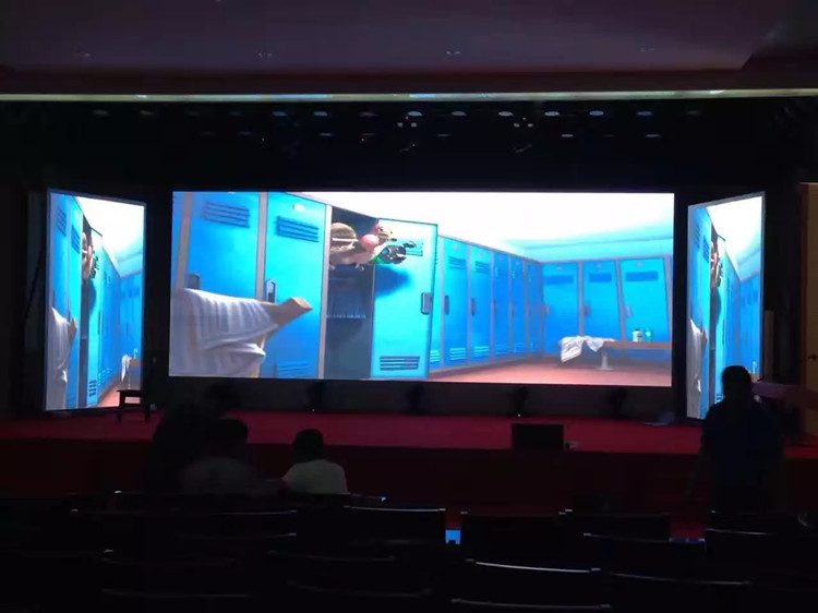 P4 Indoor Fixed LED Wall Screen For Hotel in Yunan