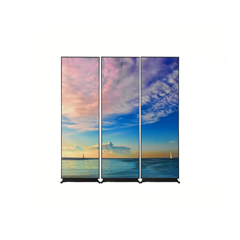 Indoor Portable Digital poster LED Display / led poster / led tv mirror screen