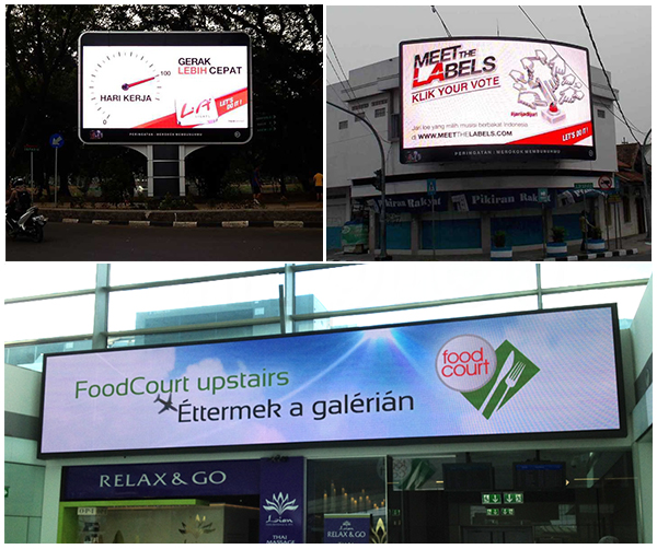 Billboard Cabinet Video Panel P4 Led Display Wall Screen Outdoor