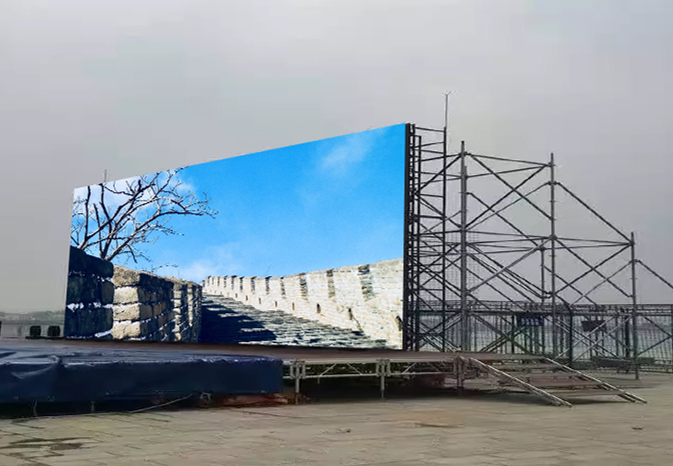 P2.976 outdoor stage led wall