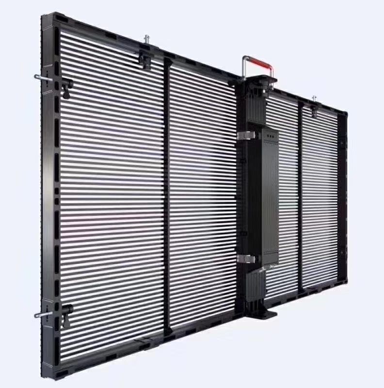 HTL has developed the solution for transparent led video wall display
