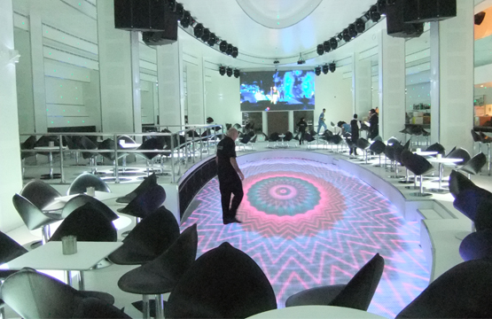 Dubai Hotel LED Dancing Floor 92 m2