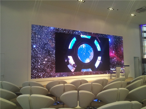 P1.9 HD LED TV for Conference room in Moscow